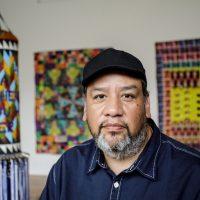 Headshot portrait of Jeffrey Gibson