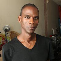 Headshot portrait of Mark Bradford