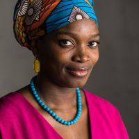 Headshot portrait of Njideka Akunyili Crosby