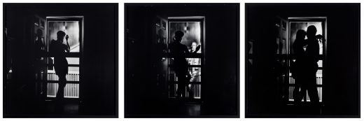 Carrie Mae Weems' photo-based triptych Black Love.