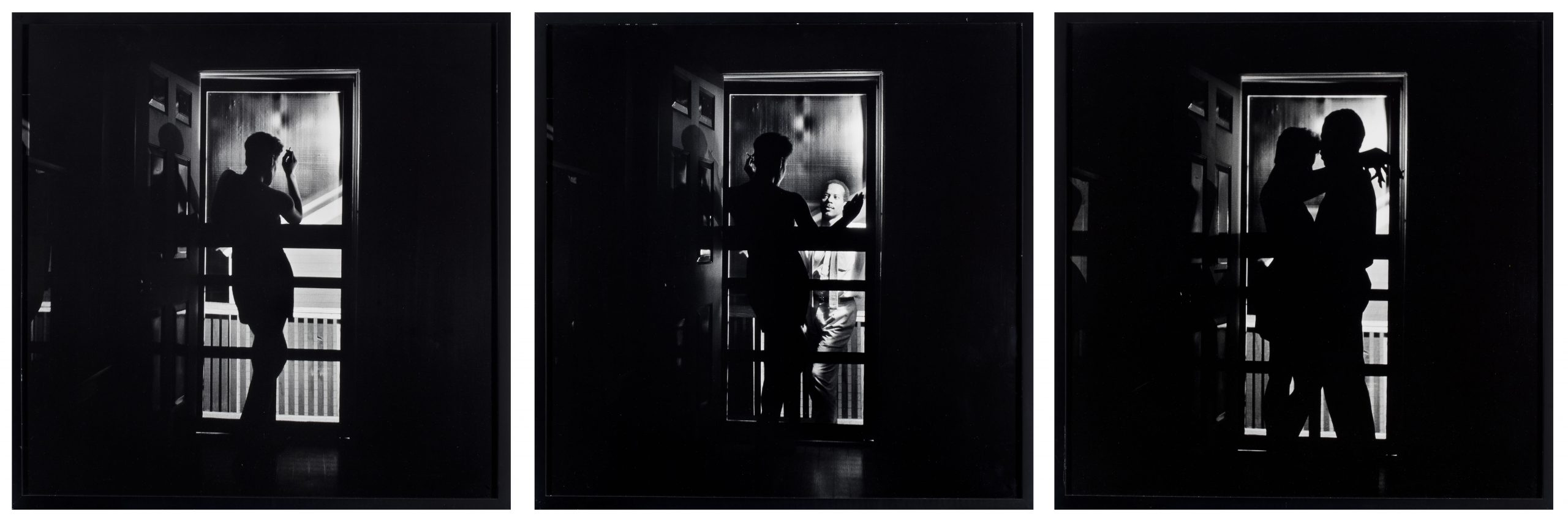 Carrie Mae Weems' photo-based triptych Black Love