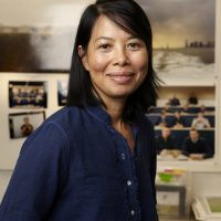 Headshot portrait of An-My Lê