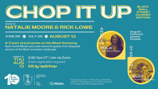 Digital poster for CHOP IT UP