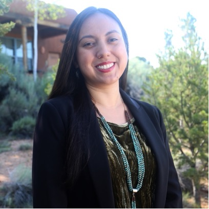 Headshot portrait of Teresa Montoya